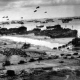 Commémoration du Débarquement allié en Normandie le 6 juin 1944